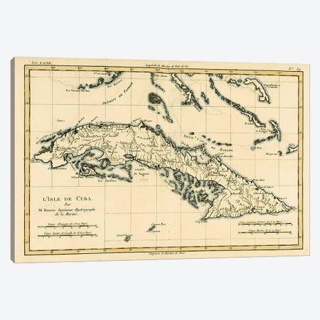 Cuba Canvas Print #BMN4881} by Charles Marie Rigobert Bonne Canvas Art