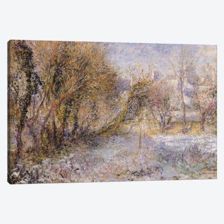Snowy Landscape  Canvas Print #BMN488} by Pierre-Auguste Renoir Canvas Wall Art