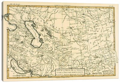 Persia, Georgia and Independent Tartary Canvas Print #BMN4890