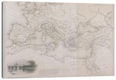 The Roman Empire, c.1850  Canvas Art Print