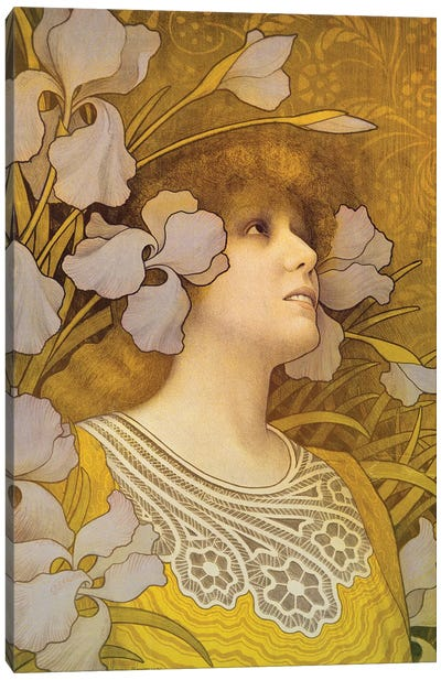 Sarah Bernhardt  Canvas Art Print