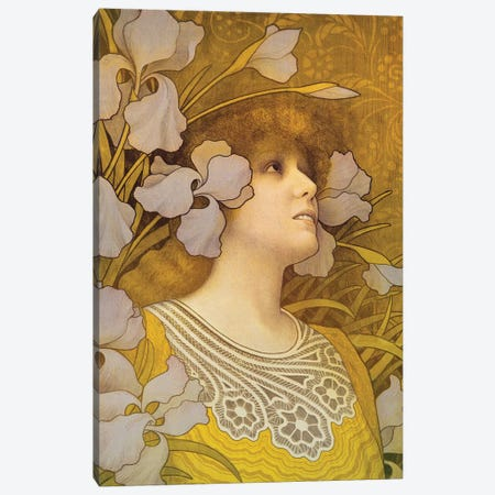 Sarah Bernhardt  Canvas Print #BMN4895} by Paul Berthon Canvas Art