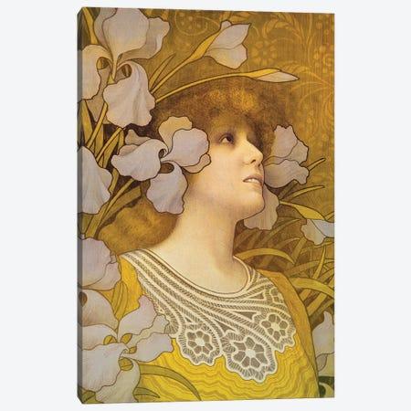 Sarah Bernhardt  Canvas Print #BMN4895} by Paul Berthon Canvas Art