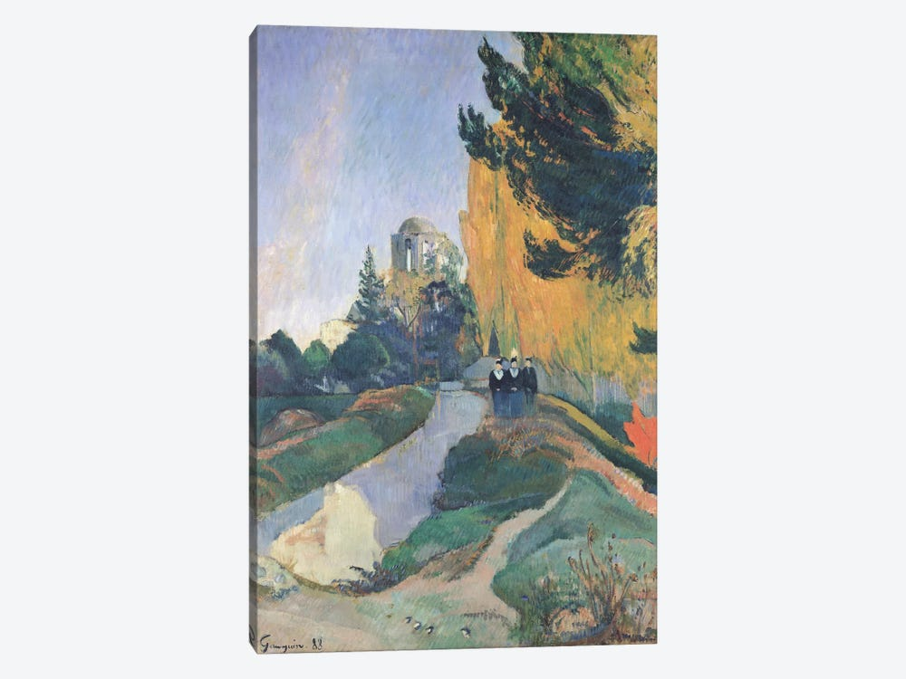 The Alyscamps, Arles, 1888 by Paul Gauguin 1-piece Art Print