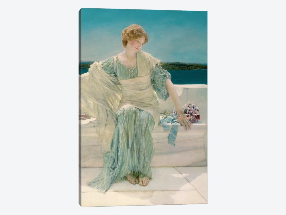 Ask me no more, 1906 by Sir Lawrence Alma-Tadema 1-piece Canvas Art Print