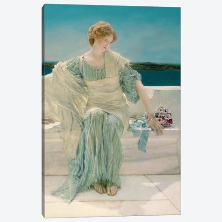 Ask me no more, 1906   Canvas Print #BMN4924} by Sir Lawrence Alma-Tadema Canvas Wall Art