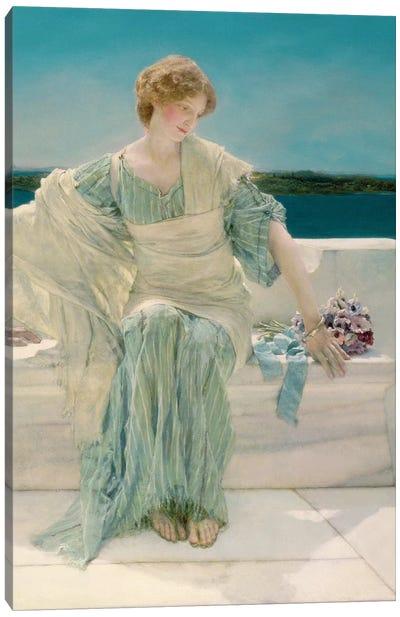Ask me no more, 1906   Canvas Art Print
