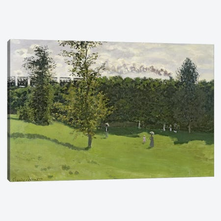 The Train in the Country, c.1870-71  Canvas Print #BMN493} by Claude Monet Canvas Print