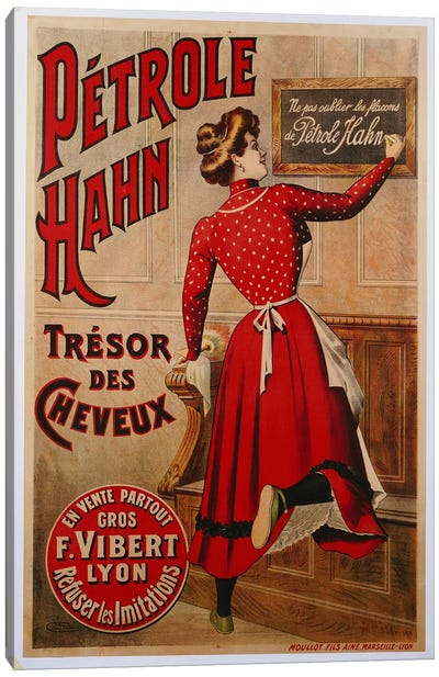 Petrole Hahn, 1910  Canvas Art Print