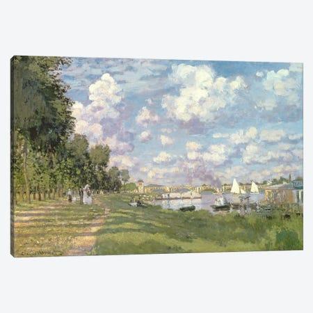 The Marina at Argenteuil, 1872  Canvas Print #BMN494} by Claude Monet Canvas Art