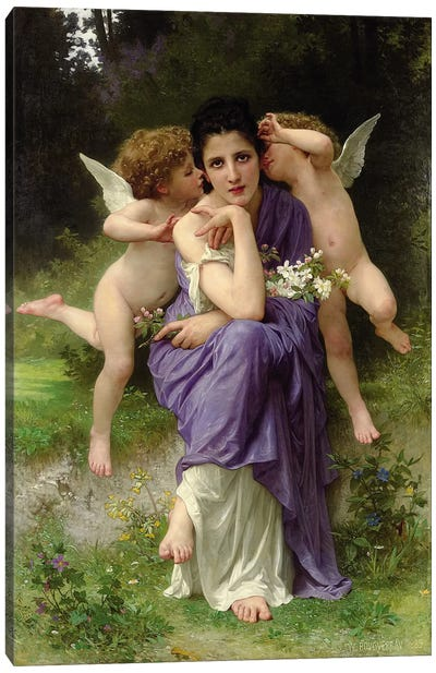 Chansons de Printemps, 1889  Canvas Art Print