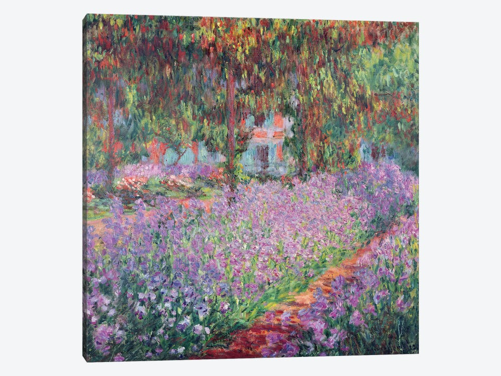 The Artist's Garden at Giverny, 1900  by Claude Monet 1-piece Art Print