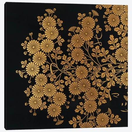 Box decorated with chrysanthemums  Canvas Print #BMN4976} by Uematsu Hobi Art Print
