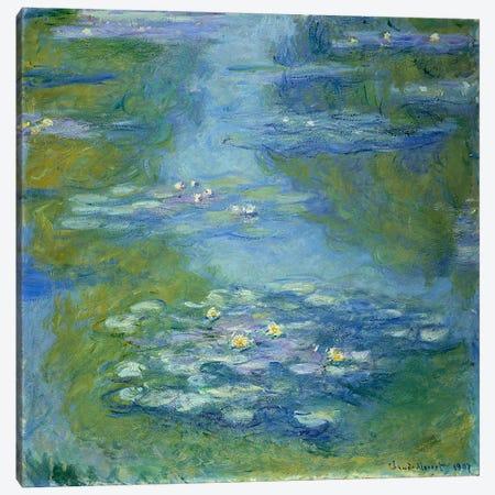 Waterlilies, 1907  Canvas Print #BMN4979} by Claude Monet Canvas Wall Art