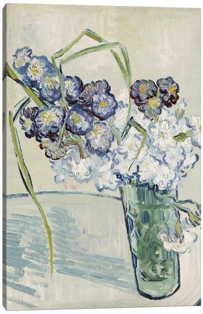 Still Life, Vase of Carnations, June 1890  Canvas Art Print
