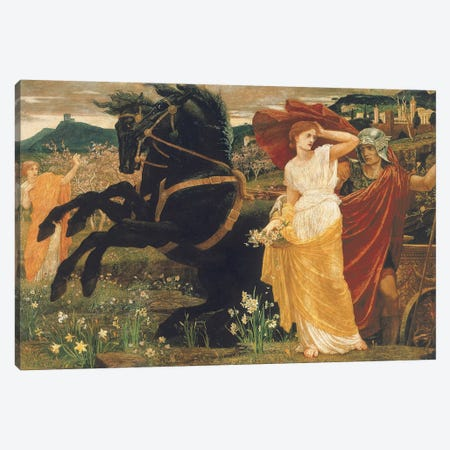 The Fate of Persephone, 1877  Canvas Print #BMN4985} by Walter Crane Canvas Art