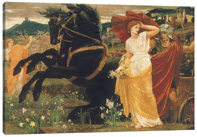 The Fate of Persephone, 1877  Canvas Art Print