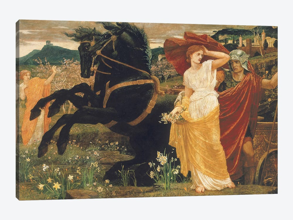 The Fate of Persephone, 1877  by Walter Crane 1-piece Canvas Wall Art