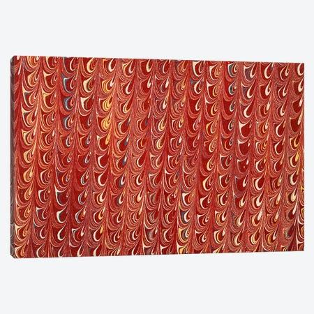 Decorative end paper I Canvas Print #BMN4989} by English School Canvas Art Print