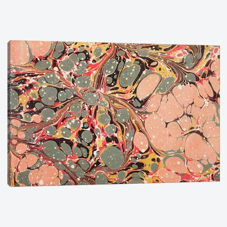 Decorative end paper II Canvas Print #BMN4990} by English School Canvas Art