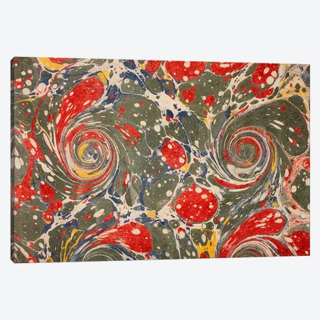 Decorative end paper V Canvas Print #BMN4993} by English School Canvas Art