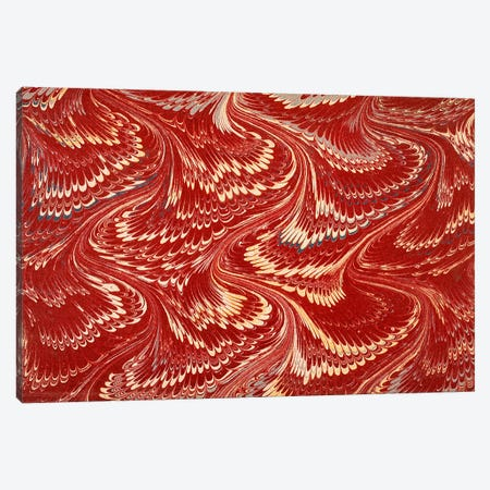 Decorative end paper X Canvas Print #BMN4999} by English School Canvas Art