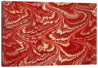 Decorative end paper X Canvas Art Print