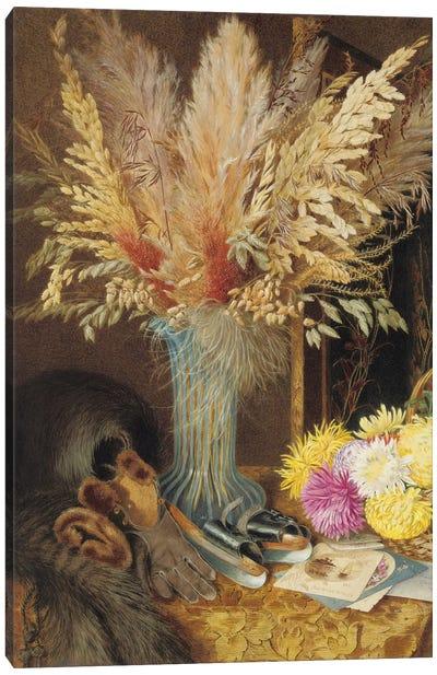 An autumnal still life, 1890  Canvas Art Print