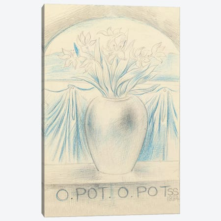 O Pot O Pot, 1884  Canvas Print #BMN5002} by Simeon Solomon Canvas Print