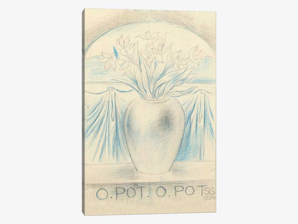 O Pot O Pot, 1884 by Simeon Solomon 1-piece Art Print