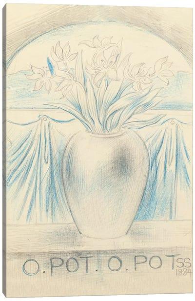 O Pot O Pot, 1884  Canvas Art Print