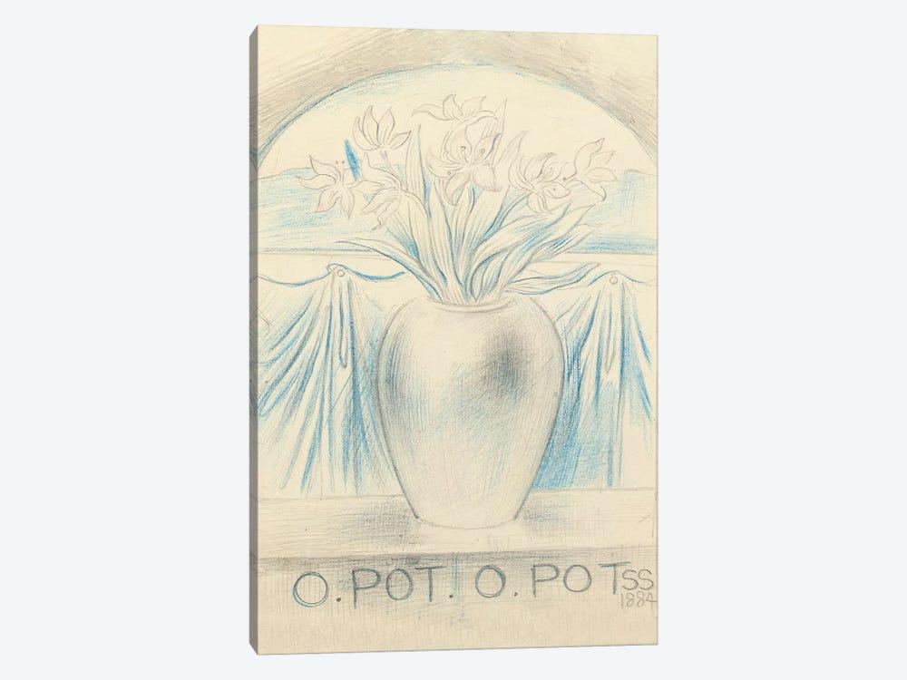 O Pot O Pot, 1884  by Simeon Solomon 1-piece Art Print