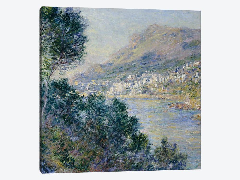 Monte Carlo, Vue de Cap Martin, 1884  by Claude Monet 1-piece Canvas Wall Art