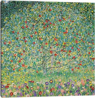 Apple Tree (Apfelbaum), 1912  by Gustav Klimt Canvas Art Print