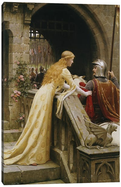 God Speed, 1900  Canvas Art Print
