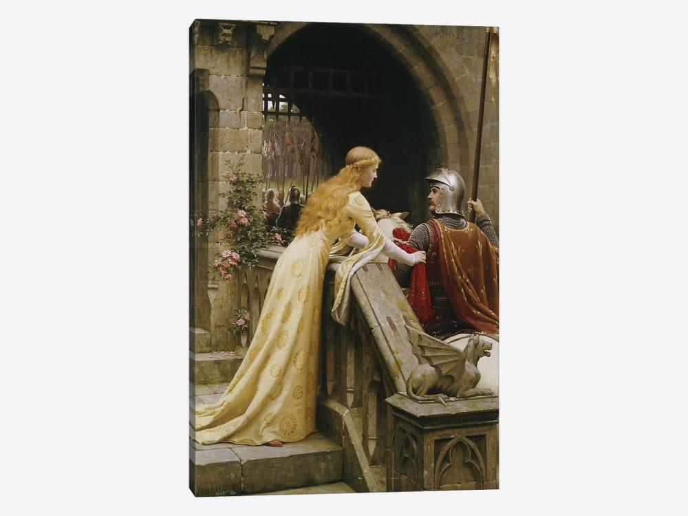God Speed, 1900  by Edmund Blair Leighton 1-piece Canvas Wall Art