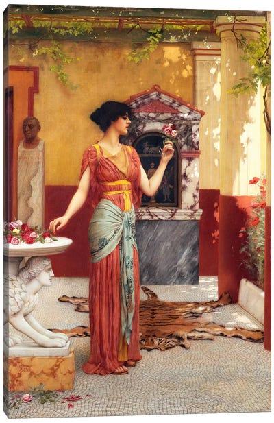 The Bouquet, 1899  Canvas Art Print