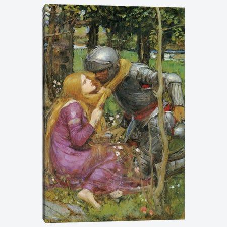 A study for 'La Belle Dame sans Merci', c.1893  Canvas Print #BMN5025} by John William Waterhouse Canvas Art