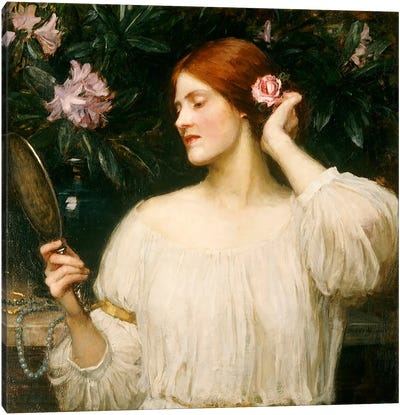 Vanity, c.1908-10  Canvas Art Print