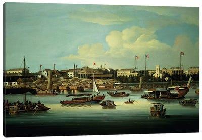 A View of the Hongs Canvas Art Print