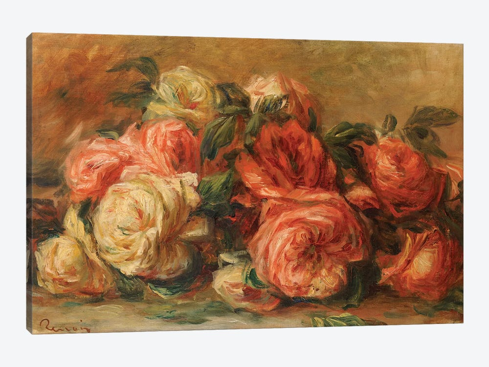 Discarded Roses  by Pierre-Auguste Renoir 1-piece Art Print