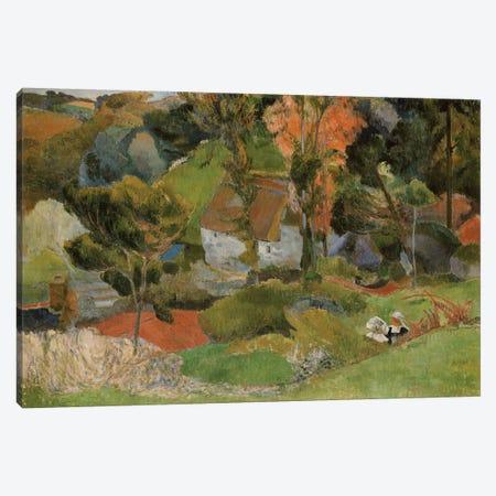 Landscape at Pont Aven, 1888  Canvas Print #BMN5035} by Paul Gauguin Canvas Print