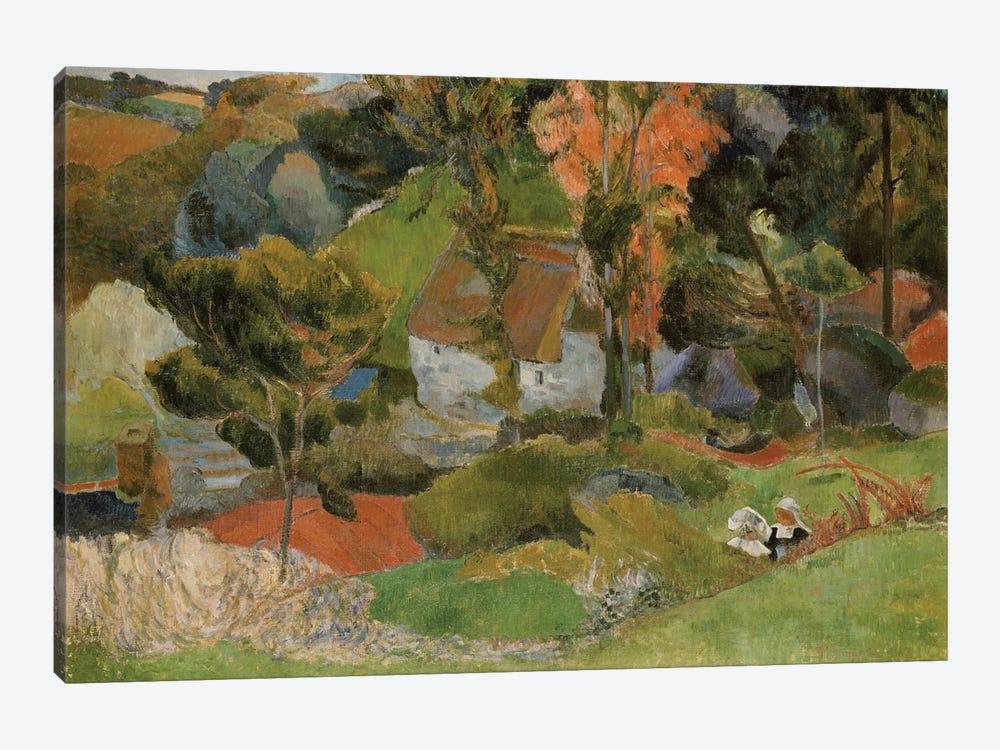 Landscape at Pont Aven, 1888  by Paul Gauguin 1-piece Art Print
