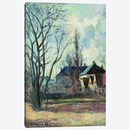 Winter Landscape at Copenhagen, 1885  Canvas Print #BMN5036} by Paul Gauguin Canvas Art Print