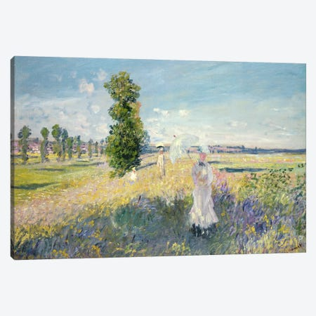 The Walk  Canvas Print #BMN503} by Claude Monet Canvas Art Print