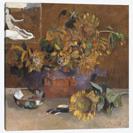 Still Life with l'Esperance, 1901  Canvas Print #BMN5040} by Paul Gauguin Art Print
