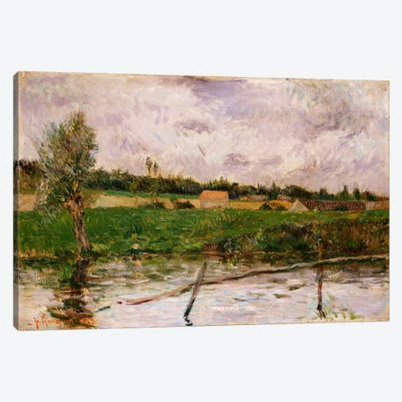 Brittany Countryside, 1879  Canvas Print #BMN5041} by Paul Gauguin Art Print