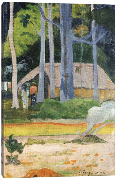 Hut in the Trees, 1892  Canvas Art Print