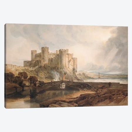 Conway Castle, c.1802  Canvas Print #BMN5046} by J.M.W. Turner Canvas Artwork