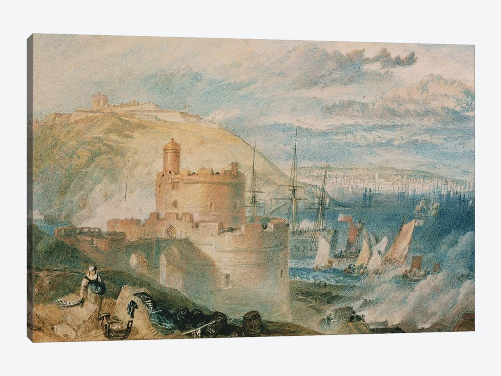 Falmouth Harbour, c.1825  by J.M.W. Turner 1-piece Canvas Print